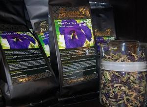 Синий тайский чай из Тайланда
