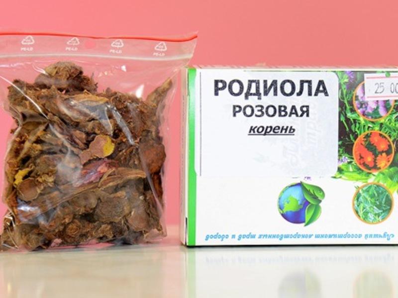 Родиола розовая (золотой корень) – настойка на водке, на спирту, лечебные свойства