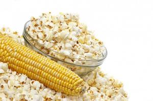 Кукуруза – полезный продукт и при приготовлении попкорна не теряет своих свойств